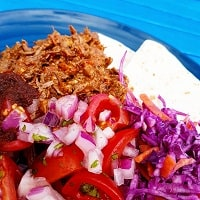 Beef Tacos with Watermelon Salsa
