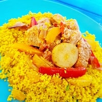 Chicken and Chorizo Cous Cous