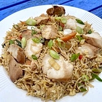Chicken and Egg Fried Rice