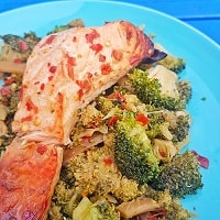 Chilli and Ginger Salmon