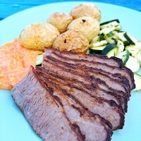 Middle Eastern Beef Brisket