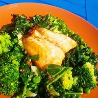 Supergreens Salmon Salad